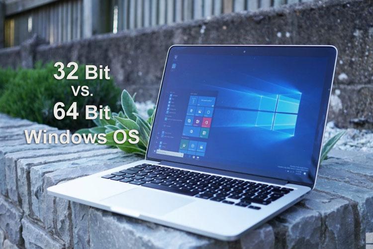 تفاوت نسخههای 32 بیت و 64 بیت ویندوز